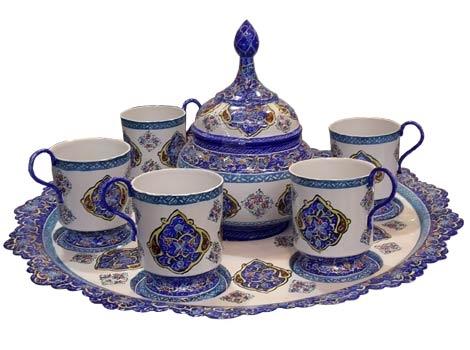 سرویس چای خوری میناکاری