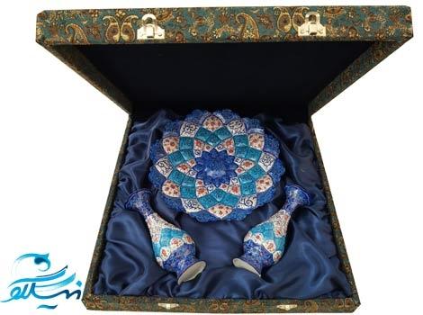 باکس ترمه هدیه میناکاری اصفهان