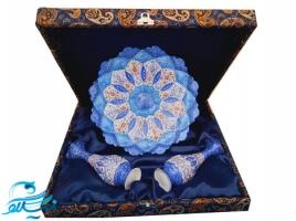 باکس هدیه تبلیغاتی ظروف هنری و سنتی مینا