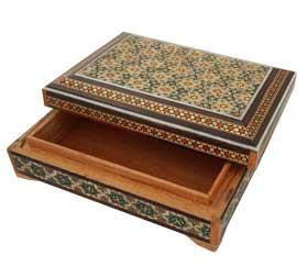 جعبه خاتم جا کارتی